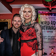 Jacqui Swallows,Andy West takes the stage at Muse in Soho for one night to help raise money for GMFA – The gay men's health charity and their HIV prevention and stigma-challenging work on 1st December 2016 in Soho,London,UK. Photo by See Li
