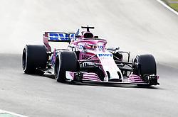 March 9, 2018 - Bracelona, Spain - Esteban Ocon, Force India..Motorsports: FIA Formula One World Championship 2018, Test in Barcelona, 2018-03-09..(c) JERREVÃ…NG STEFAN  / Aftonbladet / IBL BildbyrÃ¥....* * * EXPRESSEN OUT * * *....AFTONBLADET / 2800 (Credit Image: © JerrevÃ…Ng Stefan/Aftonbladet/IBL via ZUMA Wire)