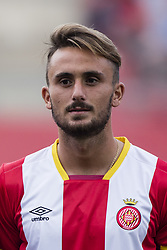 August 15, 2017 - Girona, Spain - Aleix Garcia from Spain of Girona FC during the Costa Brava Trophy match between Girona FC and Manchester City at Estadi de Montilivi on August 15, 2017 in Girona, Spain. (Credit Image: © Xavier Bonilla/NurPhoto via ZUMA Press)
