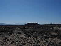 High Desert Test Sites 2013. Crater in California.