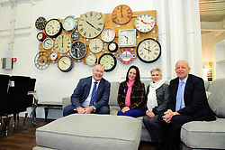Pictured is, from left, Yorkshire Bank's Commercial Relationship Manager Michael Pickles, Emma Holden, Marion Holden and Jonathan Holden<br /> <br /> Nottinghamshire furniture retailer Holdens has upgraded its premises and opened a new 7,000 square foot flagship store with funding support from Yorkshire Bank.  As the same time, Jonathan and Marion Holden are passing the running of the firm to their daughters Emma and Katie who will become the fourth generation to run the company.<br /> <br /> Date: January 22, 2016<br /> Picture: Chris Vaughan/Chris Vaughan Photography