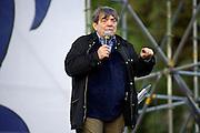 2013/05/23 Roma, il Movimento 5 Stelle chiude la campagna elettorale per le comunali. Nella foto Silvano Agosti..Rome, M5S (five stars movement) closes his electoral campaign for mayor. In the picture Silvano Agosti - © PIERPAOLO SCAVUZZO