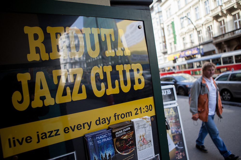 Der Reduta Jazz Club in der Narodni Strasse.