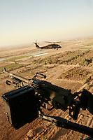 Blackhawks over Iraq, near Ramadi