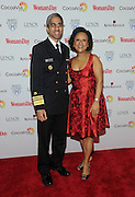 Honorees Dr. Vivek Murthy, Surgeon General of the United States, and Dr. Paula Johnson, Founder and Executive Director, Connors Center for Women's Health and Gender Biology, Bringham and Women's Hospital, pose together at Woman's Day Red Dress Awards, benefitting American Heart Association's Go Red For Women, Tuesday, Feb. 9, 2016, in New York. (Photo by Diane Bondareff/Invision for Go Red For Women/AP Images)
