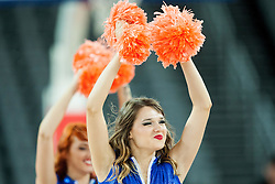 Cheerldears Escape perform during basketball match between Slovenia vs Netherlands at Day 4 in Group C of FIBA Europe Eurobasket 2015, on September 8, 2015, in Arena Zagreb, Croatia. Photo by Vid Ponikvar / Sportida
