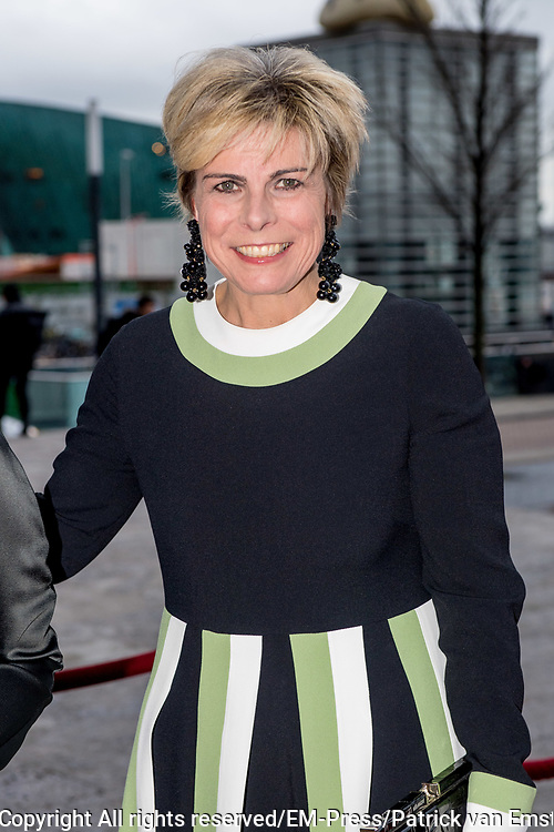 Prinses Laurentien tijdens de jubileumviering van het 100-jarig bestaan van de Openbare Bibliotheek Amsterdam.<br /> <br /> Princess Laurentien during the jubilee celebration of the 100th anniversary of the Amsterdam Public Library.