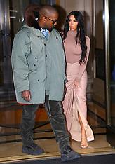 Kim Kardashian And Kanye West Out - 5 Feb 2020