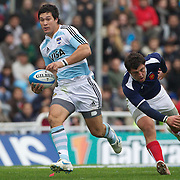Martin Rodriguez, Argentina, in action during the Argentina V France test match at Estadio Jose Amalfitani, Buenos Aires,  Argentina. 26th June 2010. Photo Tim Clayton...