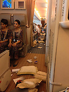 £350 if used all round fee<br /> <br /> Would you like tea or coffee with that, sir? The chaotic in-flight mess after sudden bout of turbulence hit jet as dinner was served<br /> <br /> We may have all experienced turbulence on flights, but when a rough patch is so bad that the ceiling ends up covered in coffee then you know it's serious.<br /> Passengers on a recent Singapore Airlines flight were left surrounded by a chaotic mess after their flight fell 20 metres when it hit severe turbulence.<br /> A total of 11 passengers and one crew member were injured on flight SQ308 from Singapore to London last Sunday.<br /> <br /> One passenger on the flight, who saw his coffee end up on the ceiling, managed to take pictures of the destruction <br /> <br /> Alan Cross said, that passengers had been warned to expect turbulence and that the breakfast service would be temporarily suspended.<br /> <br /> Mr Cross said the subsequent turbulence felt 'like being in an elevator with a cut cable or free-falling from some amusement park ride.'<br /> He said everything that was not tied down, including people, hit the ceiling.<br /> The airline told The Australian: 'Eleven passengers and one crew member sustained minor injuries when the aircraft experienced a sudden loss of altitude and were attended to by medical personnel on arrival at Heathrow Airport. Seat-belt signs were on at the time and meal services had already been suspended.'<br /> <br /> <br /> Within just an hour, the carnage had been almost completely tidied up and the plane was practically back to normal.<br /> Mr Cross said: 'The cabin crew was amazing in the aftermath, as were fellow passengers who helped everyone around them then in a calm and efficient clean-up.'<br /> He said crew checked for injuries before cleaning up the mess and gave passengers boxes of chocolates as they departed at Heathrow, where they were met by paramedics.<br /> The vast majority of passengers are not affected by turbulence on anything like this scale, but some research suggests that unsettled flights could become the norm thanks to global warming.<br /> Earlie