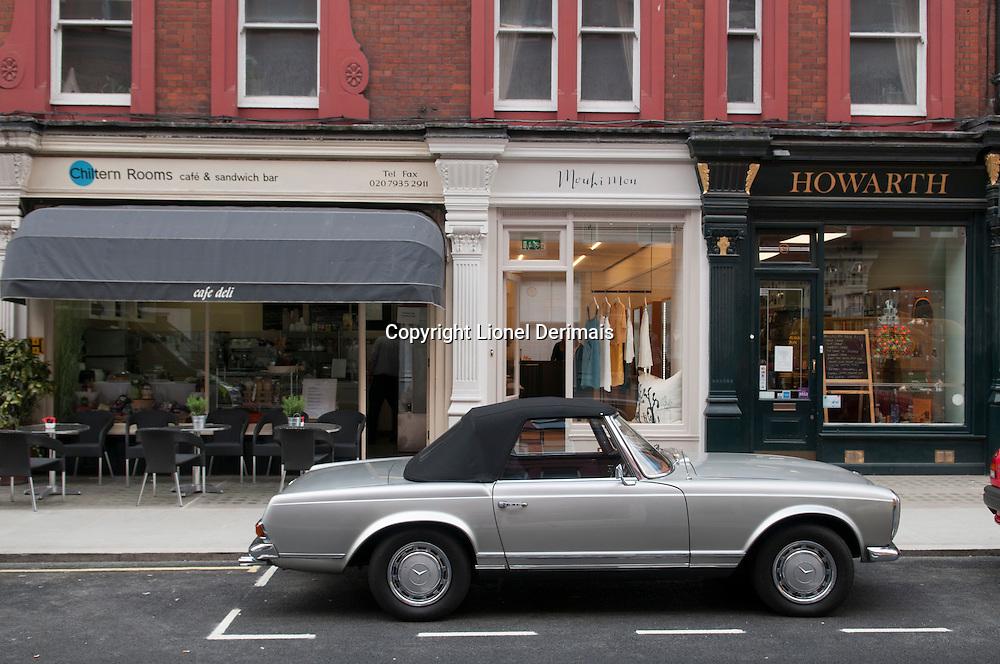 Chiltern street, Marylebone, London