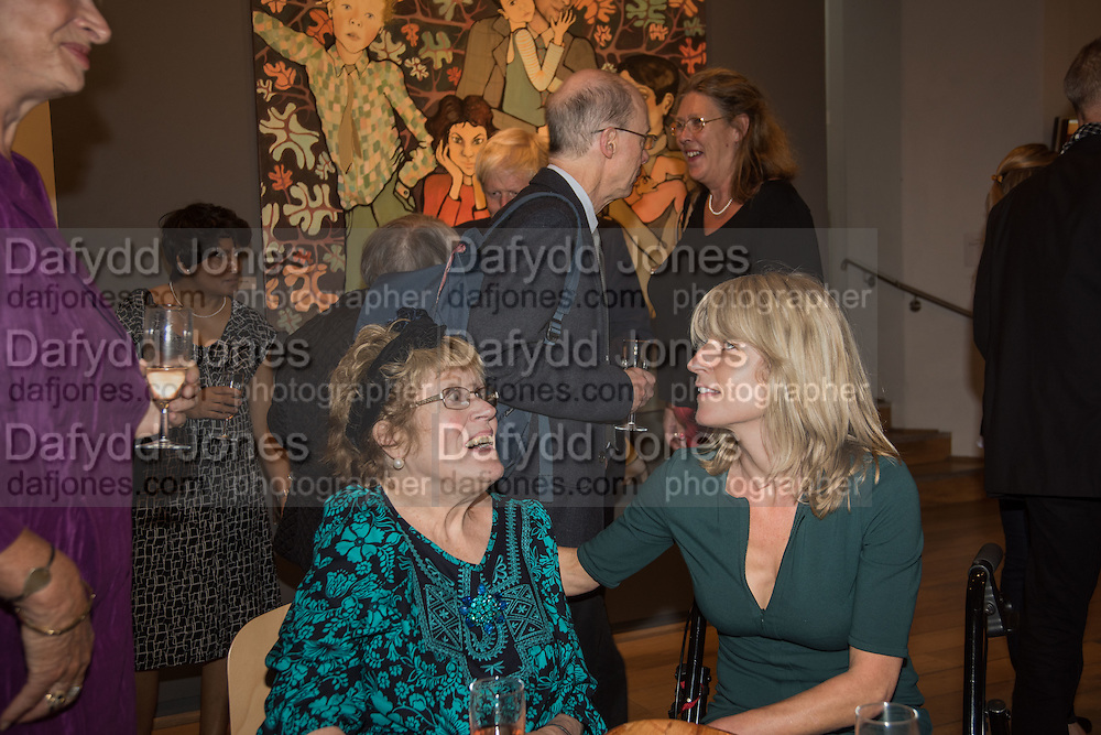 CHARLOTTE JOHNSON WAHL; RACHEL JOHNSON, Exhibition opening of paintings by Charlotte Johnson Wahl. Mall Galleries. London, 7 September 2015.