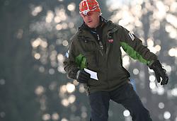 Janez Smitek at 10th men`s slalom AUDI FIS Alpine Ski World Cup race in Kranjska Gora, Slovenia, ob March 9, 2008.  (Photo by: Vid Ponikvar / Sportal Images)