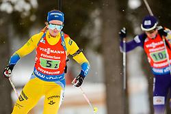 March 16, 2019 - –Stersund, Sweden - 190316 Mona Brorsson of Sweden competes in the Women's 4x6 km Relay during the IBU World Championships Biathlon on March 16, 2019 in Östersund..Photo: Johan Axelsson / BILDBYRÃ…N / Cop 245 (Credit Image: © Johan Axelsson/Bildbyran via ZUMA Press)