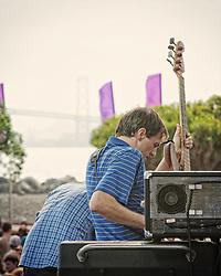 Holy Fuck perform  at the Treasure Island Music Festival 2010