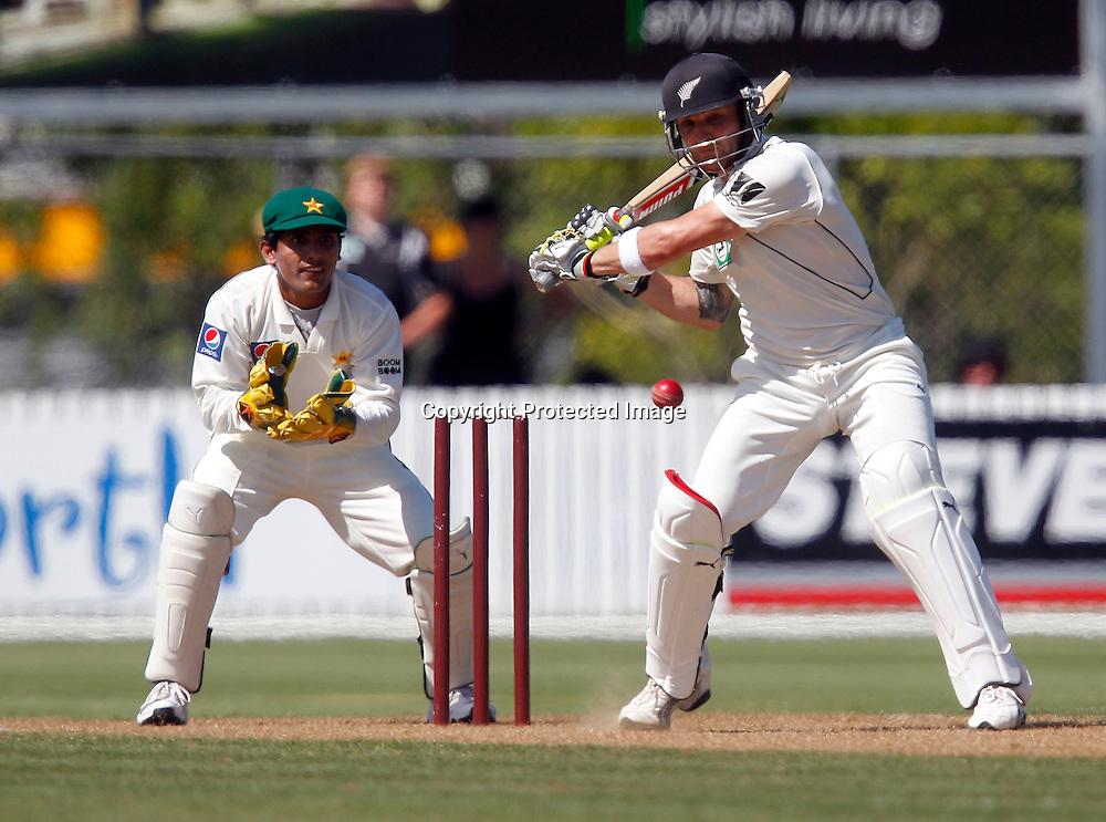 NZ XI's Brendon McCullum. International Cricket, New Zealand XI v Pakistan, Cobham Oval Whangarei, Sunday 2nd January 2011. Photo: Shane Wenzlick / www.photosport.co.nz