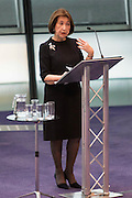 UNITED KINGDOM, London: 26 January 2016 Holocaust survivor Hannah Lewis talks about her experiences in The Chamber of City Hall during a memorial service to remember victims of the Holocaust this morning. The Mayor of London, Boris Johnson, joined members of the London Assembly as well as Holocaust survivors to mark 71 years since the liberation of Auschwitz-Birkenau and to pay tribute to victims of other subsequent genocides. Rick Findler / Story Picture Agency