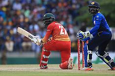 Sri Lanka vs Zimbabwe - 4th ODI - 8 July 2017