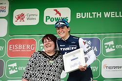 Stage winner, Lizzie Deignan (GBR) at Stage 5 of 2019 OVO Women's Tour, a 140 km road race from Llandrindod Wells to Builth Wells, United Kingdom on June 14, 2019. Photo by Sean Robinson/velofocus.com