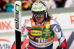 Ondrej Bank of Czech republic during 2nd Rund of Men's Giant Slalom of FIS Ski World Cup Alpine Kranjska Gora, on March 5, 2011 in Vitranc/Podkoren, Kranjska Gora, Slovenia.  (Photo By Vid Ponikvar / Sportida.com)