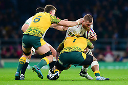 Brad Shields of England - Mandatory by-line: Dougie Allward/JMP - 24/11/2018 - RUGBY - Twickenham Stadium - London, England - England v Australia - Quilter Internationals
