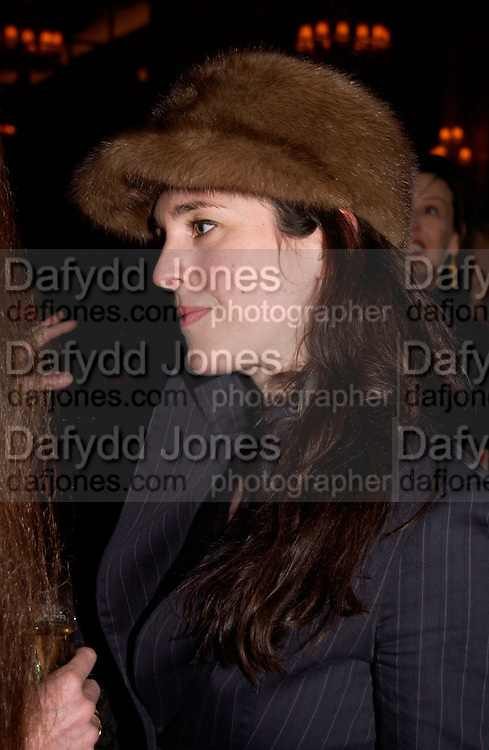 Charlotte Skyene-Catling, Annabel, An Unconventional Life. Memoirs of Lady Annable goildsmith. The Ritz. 10 March 2004. ONE TIME USE ONLY - DO NOT ARCHIVE  © Copyright Photograph by Dafydd Jones 66 Stockwell Park Rd. London SW9 0DA Tel 020 7733 0108 www.dafjones.com