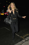20.JANUARY.2010        LONDON<br /> <br /> SUPER MODEL KATE MOSS CELEBRATES HER BELATED 36TH BIRTHDAY WITH FRIENDS, FAMILY AND HER NEW FIANCE JAMIE HINCE AT SHORDITCH HOUSE MEMBERS CLUB IN LONDON. JAMIE WHO REPORTEDLY PROPOSED TO KATE WHILST AWAY ON HOLIDAY LAST WEEK ARRIVED HALF AN HOUR AFTER HIS WIFE TO BE. BUT KATE WAS STILL NOT WEARING AN ENGAGEMENT RING. <br /> <br /> BYLINE MUST READ : EDBIMAGEARCHIVE.COM<br /> <br /> *THIS IMAGE IS STRICTLY FOR UK NEWSPAPERS &amp; MAGAZINES ONLY*<br /> *FOR OTHER REGIONS AND WEB USE PLEASE CONTACT EDBIMAGEARCHIVE - 0208 954 5968*