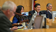 Richard Carranza is hired to be superintendent of the Houston ISD, August 18, 2016.
