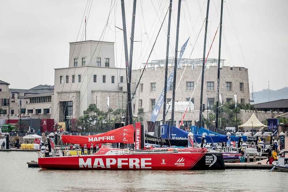 © Maria Muina I MAPFRE. MAPFRE arrives to Guangzhou. El MAPFRE llega a Guangzhou.