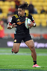 Chiefs Johnny Fa'auli against the Hurricanes in the Super Rugby match at Westpac Stadium, Napier, New Zealand, Friday, April 13, 2018. Credit:SNPA / Ross Setford