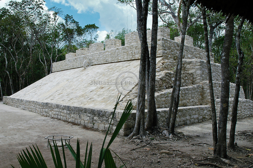 The game played in the ball courts by the ancient Mayans was very important to their culture.