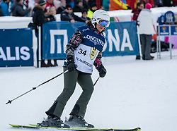 20.01.2018, Hahnenkamm, Kitzbühel, AUT, FIS Weltcup Ski Alpin, Kitzbuehel, Kitz Charity Trophy, im Bild Fabiana Ecclestone // Fabiana Ecclestone during the Kitz Charity Trophy of the FIS Ski Alpine World Cup at the Hahnenkamm in Kitzbühel, Austria on 2018/01/20. EXPA Pictures © 2018, PhotoCredit: EXPA/ Stefan Adelsberger