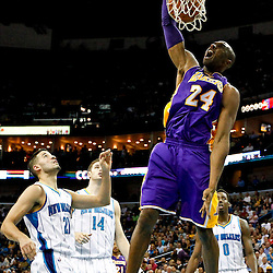 12-05-2012 Los Angeles Lakers at New Orleans Hornets