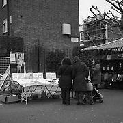 Notting Hill Gate, Portobello road.
