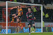 David Meyler (Hull City) during the Sky Bet Championship match between Hull City and Cardiff City at the KC Stadium, Kingston upon Hull, England on 13 January 2016. Photo by Mark P Doherty.