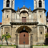 Church of Santo Cristo del Buen Viaje in Havana, Cuba<br />