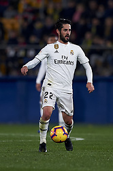 January 4, 2019 - Villarreal, Castellon, Spain - Isco of Real Madrid in action during the week 17 of La Liga match between Villarreal CF and Real Madrid at Ceramica Stadium in Villarreal, Spain on January 3 2019. (Credit Image: © Jose Breton/NurPhoto via ZUMA Press)