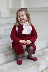 Princess Charlotte goes to Nursery School - 8 Jan 2018