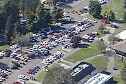 Oct 1, 2015 - Roseburg, Oregon, U.S. - <br /> <br /> Aerial view of Umpqua Community College, where a shooting with multiple fatalities occurred, <br /> ©Exclusivepix Media