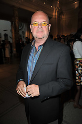 JAMES WHALE at a private view of a new collection of bronzes and original paintings by artist Jonathan Wylder and his muse Jennifer Wade held at the V&A Museum, London on 27th April 2011.