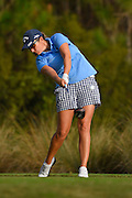 Sara-Maude Juneau during the final round of the LPGA Qualifying Tournament Stage Three at LPGA International in Daytona Beach, Florida on Dec. 6, 2015.<br /> <br /> <br /> ©2015 Scott A. Miller