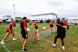 Jamie Paterson of Bristol City during a head tennis session in the afternoon of day 5 - Rogan/JMP - 15/07/2019 - IMG Academy, Bradenton - Florida, USA - Bristol City Pre-Season Tour Day 5.