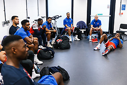 Team meeting - Rogan/JMP - 14/10/2018 - BASKETBALL - Copper Box Arena - London, England - British Basketball All-Stars Championship 2018.