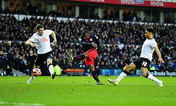 Reading's Yakubu Aiyegbeni scores the winning goal of the game to put reading through to the six round.- Photo mandatory by-line: Alex James/JMP - Mobile: 07966 386802 - 14/02/2015 - SPORT - Football - Derby  - ipro stadium - Derby County v Reading - FA Cup - Fifth Round