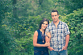 Heather & Greg - engagement photos at Shades Mills in Cambridge