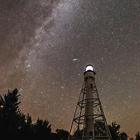 Michigan Island Lighthouse, Apostle Islands National Lakeshore, Lake Superior, Wisconsin