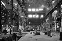 Norfolk Melting Shop, Firth-Brown Sheffield, 1 September 1982.