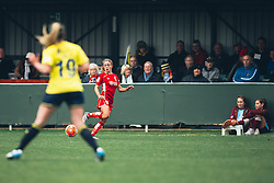 Megan Alexander of Bristol City Women - Rogan Thomson/JMP - 06/11/2016 - FOOTBALL - The Northcourt Stadium - Abingdon-on-Thames, England - Oxford United Women v Bristol City Women - FA Women's Super League 2.