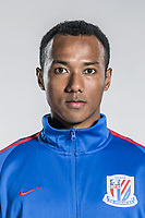 **EXCLUSIVE**Portrait of Chinese soccer player Eddy Francis, or simply Aidi, of Shanghai Greenland Shenhua F.C. for the 2018 Chinese Football Association Super League, in Shanghai, China, 2 February 2018.
