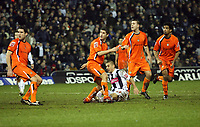 Photo: Rich Eaton.<br /> <br /> West Bromwich Albion v Luton Town. Coca Cola Championship. 12/01/2007. Kevin Phillips of West Brom celebrates scores the equalizer to make it 2-2 before scoring another to make it 3-2 in extra time